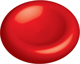 Illustration of a red blood cell